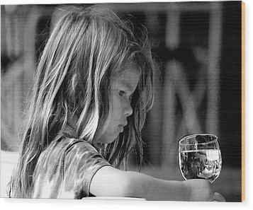 Argentine Girl  Wood Print