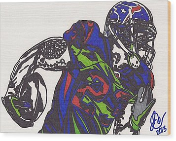 Arian Foster 1 Wood Print