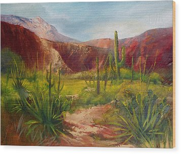 Arizona Beauty Wood Print by Robert Carver