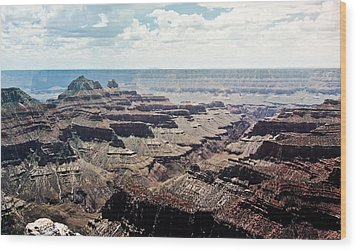 Arizona Grand Canyon North Rim Wood Print by Ryan Kelly