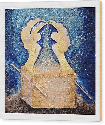 Ark Of The Covenant  Wood Print by Alisa Poplavskaya
