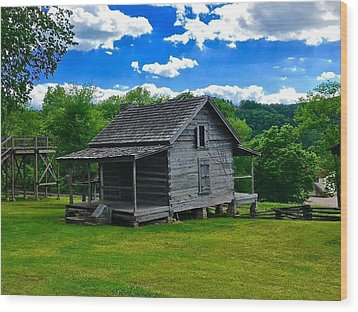 Arkansas Travels Wood Print
