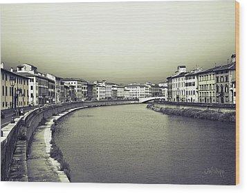 Arno II Wood Print