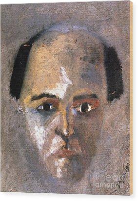 Arnold Schoenberg Wood Print by Granger