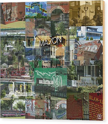 Around Mason 3 Wood Print