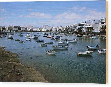 Arrecife - Lanzarote Wood Print