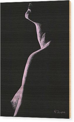 Arrogance Wood Print by Richard Young
