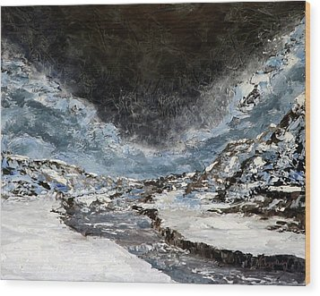 Arroyo Pass Wood Print