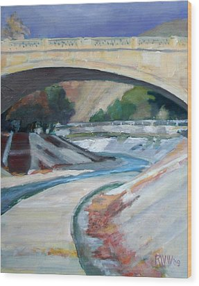 Arroyo Seco Wood Print