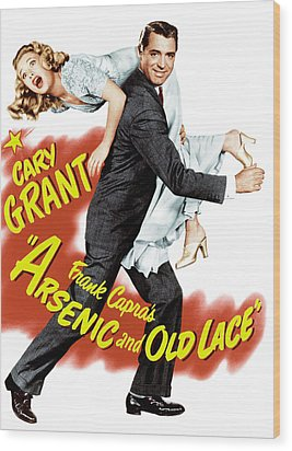 Arsenic And Old Lace, Priscilla Lane Wood Print by Everett