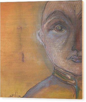 Art Critic Wood Print