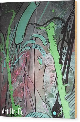 Art Dr Co. Wood Print by Jose J Montee Montejano