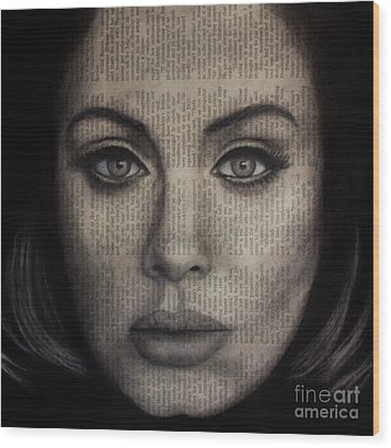 Art In The News 72-adele 25 Wood Print