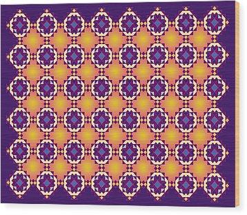 Art Matrix 001 A Wood Print