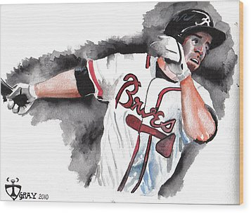 Art Of The Braves Wood Print by Torben Gray