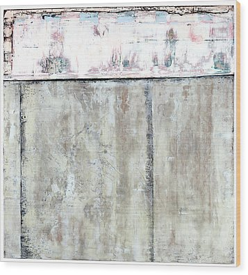 Art Print Abstract 101 Wood Print