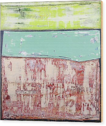 Art Print Abstract 19 Wood Print