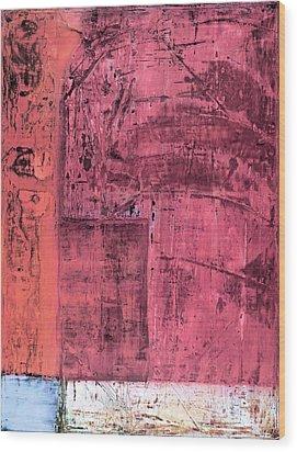 Art Print Redwall Wood Print