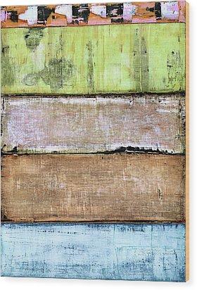 Art Print Sierra 4 Wood Print