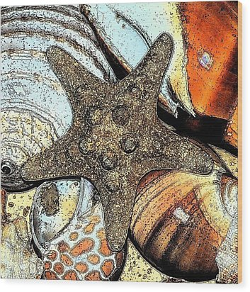 Art Shell 1 Wood Print