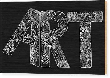 Art Within Art Wood Print