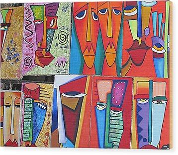 Arte De Cuba Wood Print