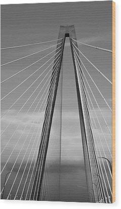 Arthur Ravenel Jr Bridge II Wood Print