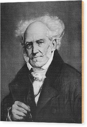 Arthur Schopenhauer Wood Print by Granger