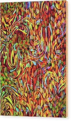 Artistic Flair Wood Print