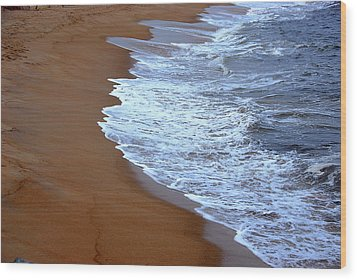 Artistic Impression Plum Island Wood Print by AnnaJanessa PhotoArt