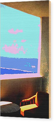 Aruba Wood Print by Ian  MacDonald