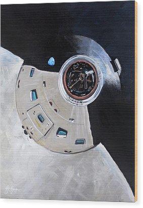 As-503 Apollo 8 Wood Print by Simon Kregar