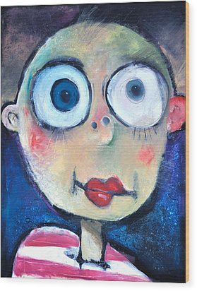 As A Child Wood Print by Tim Nyberg