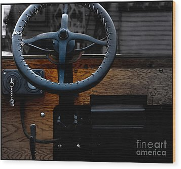 As Ford Models  Wood Print by Steven Digman