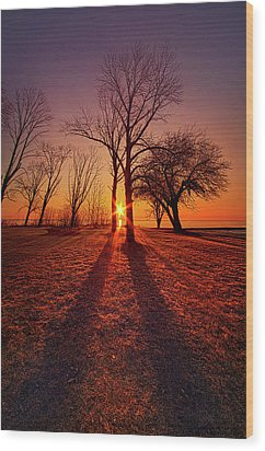 Wood Print featuring the photograph As Sure As The Sun Will Rise by Phil Koch