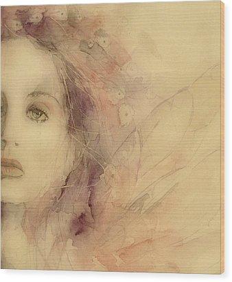 As Tears Go By Wood Print by Paul Lovering