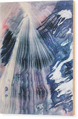 Ascension Wood Print by David Raderstorf