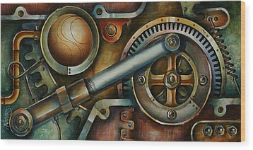 'assembled' Wood Print by Michael Lang