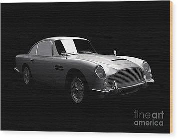 Aston Martin Db5 Wood Print