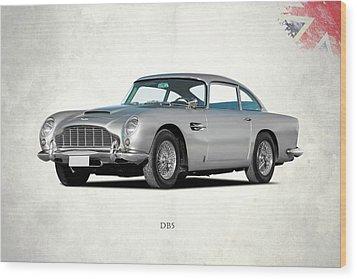 Aston Martin Db5 Wood Print by Mark Rogan