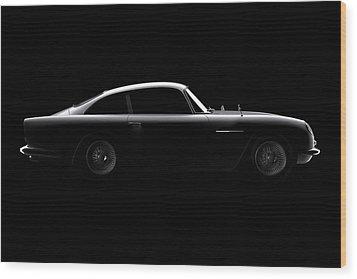 Aston Martin Db5 - Side View Wood Print