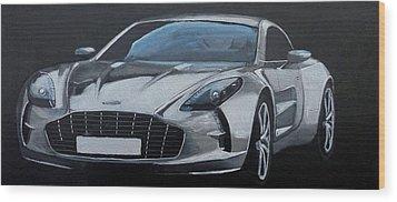 Aston Martin One-77 Wood Print
