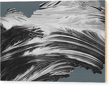 At Sea Wood Print