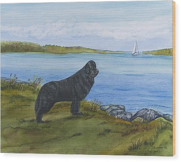 At Seneca Lake Wood Print