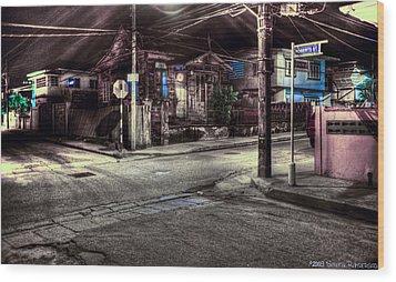 At The Crossroads... Wood Print by Sarita Rampersad