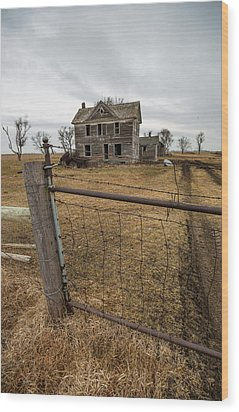 Wood Print featuring the photograph At The Gate  by Aaron J Groen