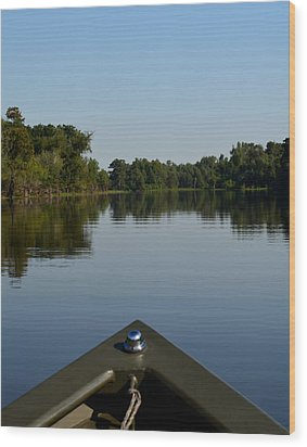 Atchafalaya Basin 6 Wood Print by Maggy Marsh