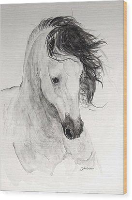 Atinado II Wood Print by Janina  Suuronen