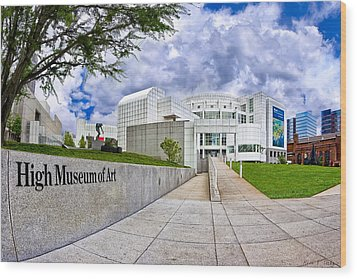 Atlanta's High Museum Wood Print by Mark E Tisdale