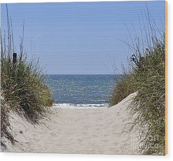Atlantic Access Wood Print by Al Powell Photography USA